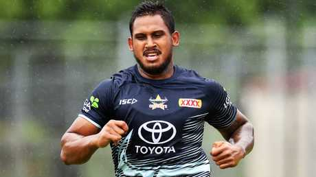 Cowboys recruit Ben Barba has spent two years out of the NRL. Picture: Zak Simmonds