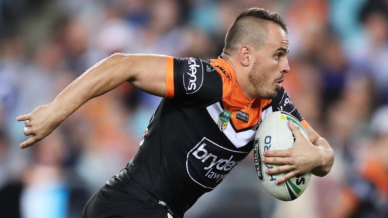Josh Reynolds returns after an injury-hit 2018 but where does he fit into the Wests Tigers team? Picture: Brett Costello