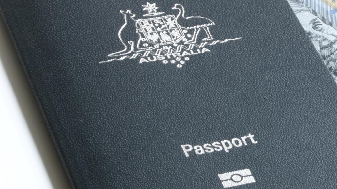 Australians should be careful not to damage their passports.
