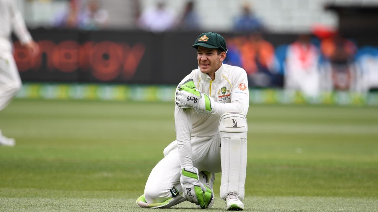 Tim Paine relishes the challenge. Picture: Julian Smith/AAP
