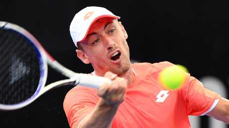 John Millman is also in line for a singles berth. (AAP Image/Dan Peled)