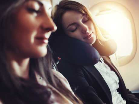 Get used to your new time zone the minute you board the plane. Picture: iStock