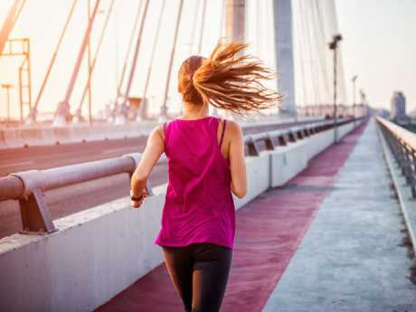 Get moving the minute you land to recharge your body. Picture: iStock