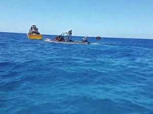 Marine incident Flinders Reef