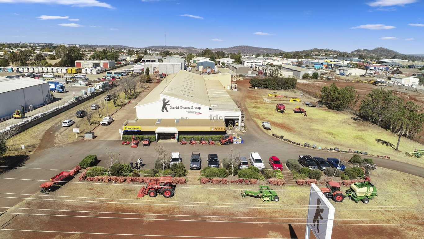 The David Evans Group building has sold to a Toowoomba investor for $3.95 million.