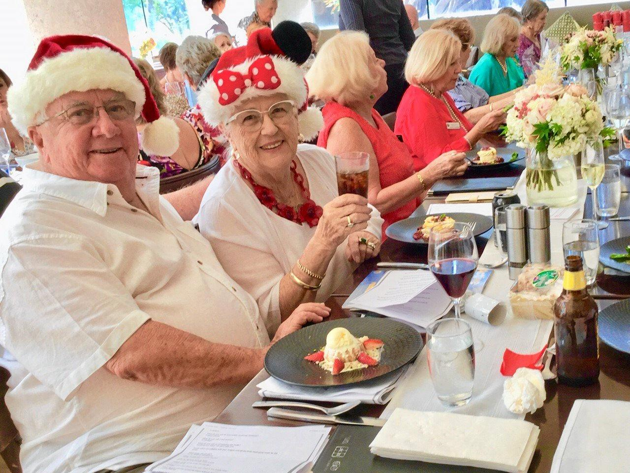 Sorrento Probus Club members enjoy a delicious Christmas lunch at the beautiful Marriott Resort.