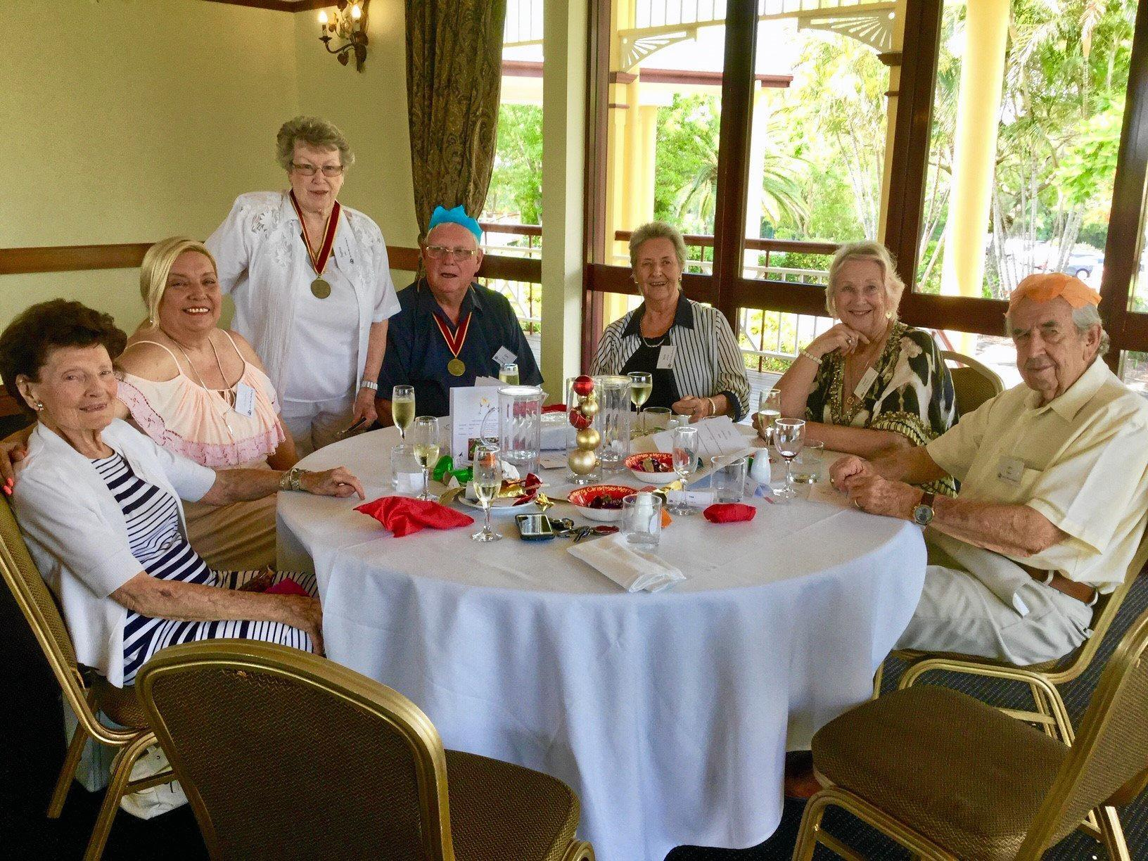 Gold Coast Wine & Food Society members enjoyed an excellent Christmas luncheon at Palmer Colonial.
