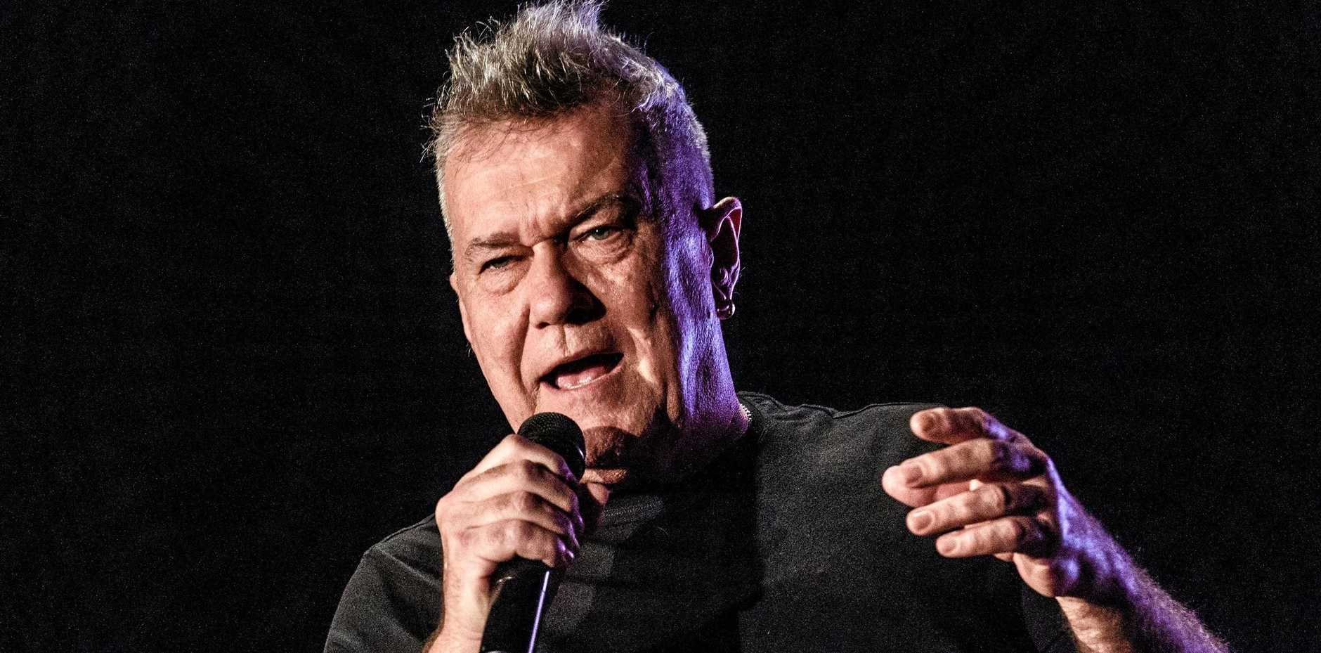 Jimmy Barnes' performs Working Class Man at Saraton Theatre in May.