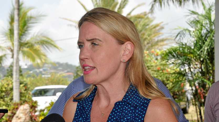 SPEAKING OUT: Acting Minister for Education Kate Jones.