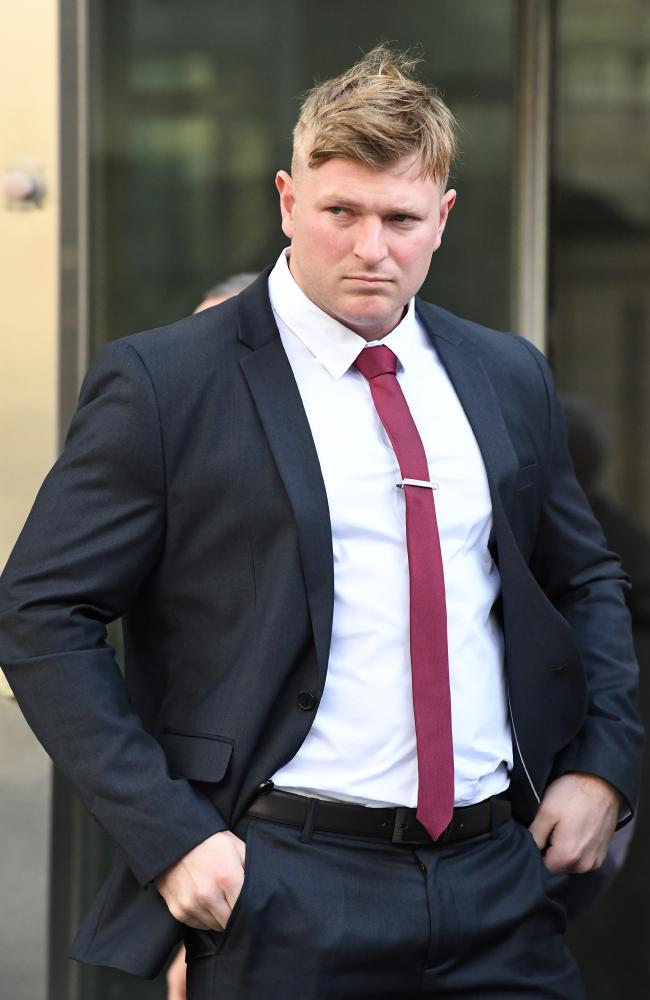 Blair Cottrell is a convicted criminal and self-confessed neo-Nazi. Picture: AAP