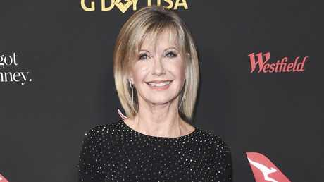 Reports that Olivia Newton-John was just weeks from death swept the world this week. Picture: AP
