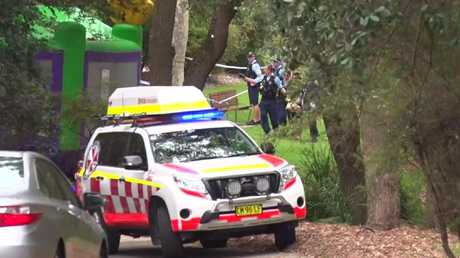 A teen has been arrested over the incident. Picture: TNV