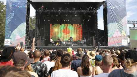 There have been two deaths at Aussie festivals in the past week. Picture: AAP Image/Regi Varghese