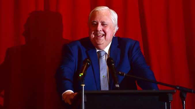 Clive Palmer claims he will release a game titled Clive Palmer: Humble Meme Merchant later this month. Picture: Shae Beplate.