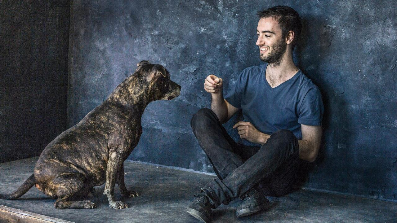 Brandon Cowan works with animals and likes a laugh, and he's on the search for a girlfriend. Picture: Tim Bauer