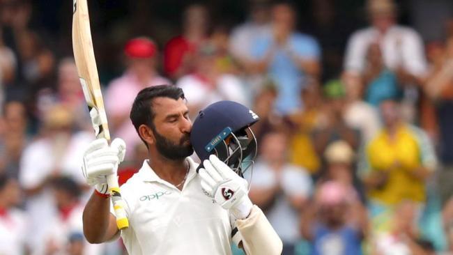 Pujara has dominated Australia's bowling attack.