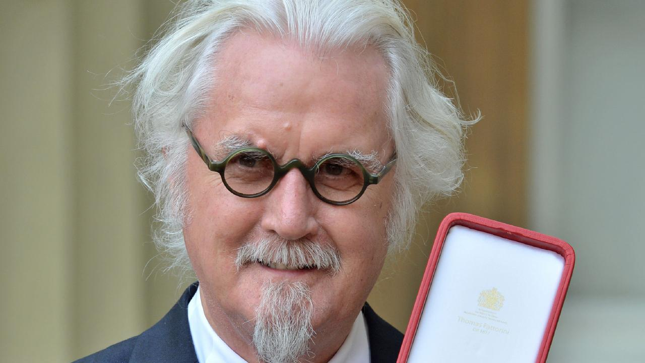 Billy Connolly has said he is 'near the end'. Picture: John Stillwell