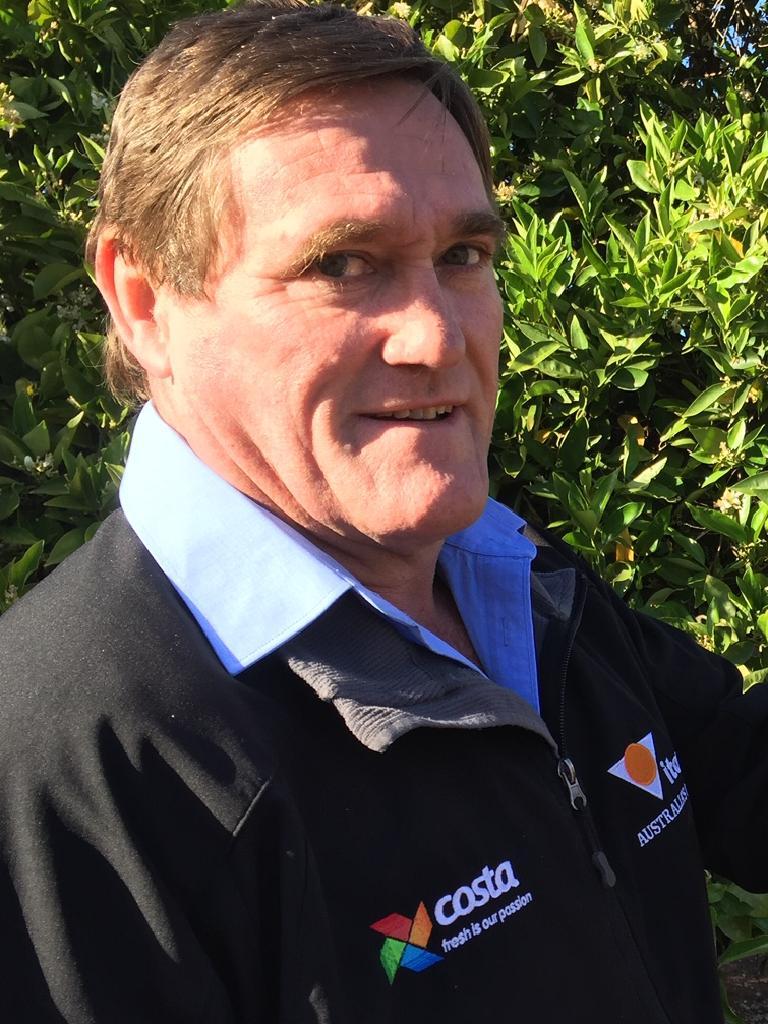 Citrus Australia SA region chairman Steve Burdette.