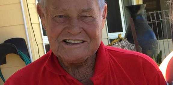 Harold Lander, 82, died in a single-vehicle crash at Pechey, north of Toowoomba, on New Year's Day.