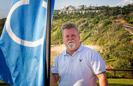 Noel Mooney of North Shore Realty at Point Perry Photo: Peter Evans / Sunshine Coast Daily