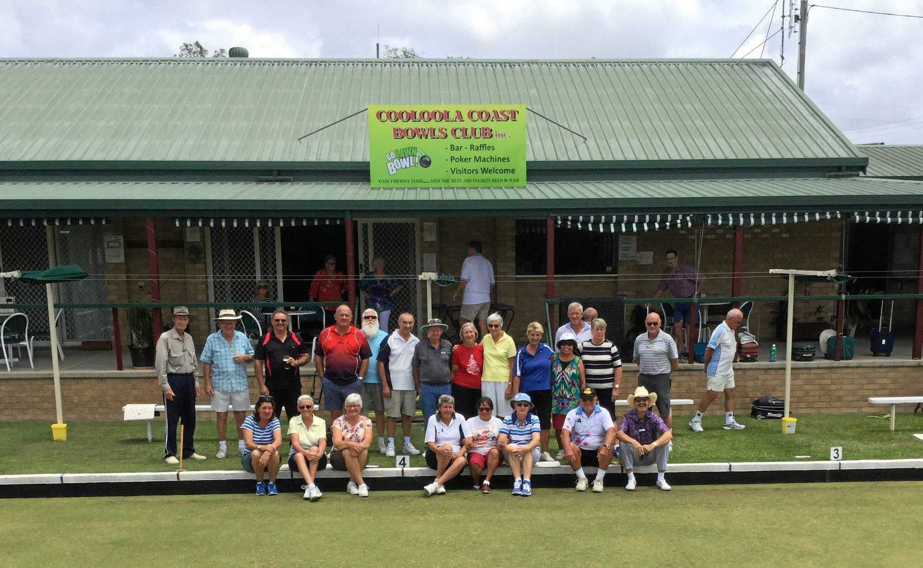 Cooloola Coast Bowls Club enjoy their last day on the green.