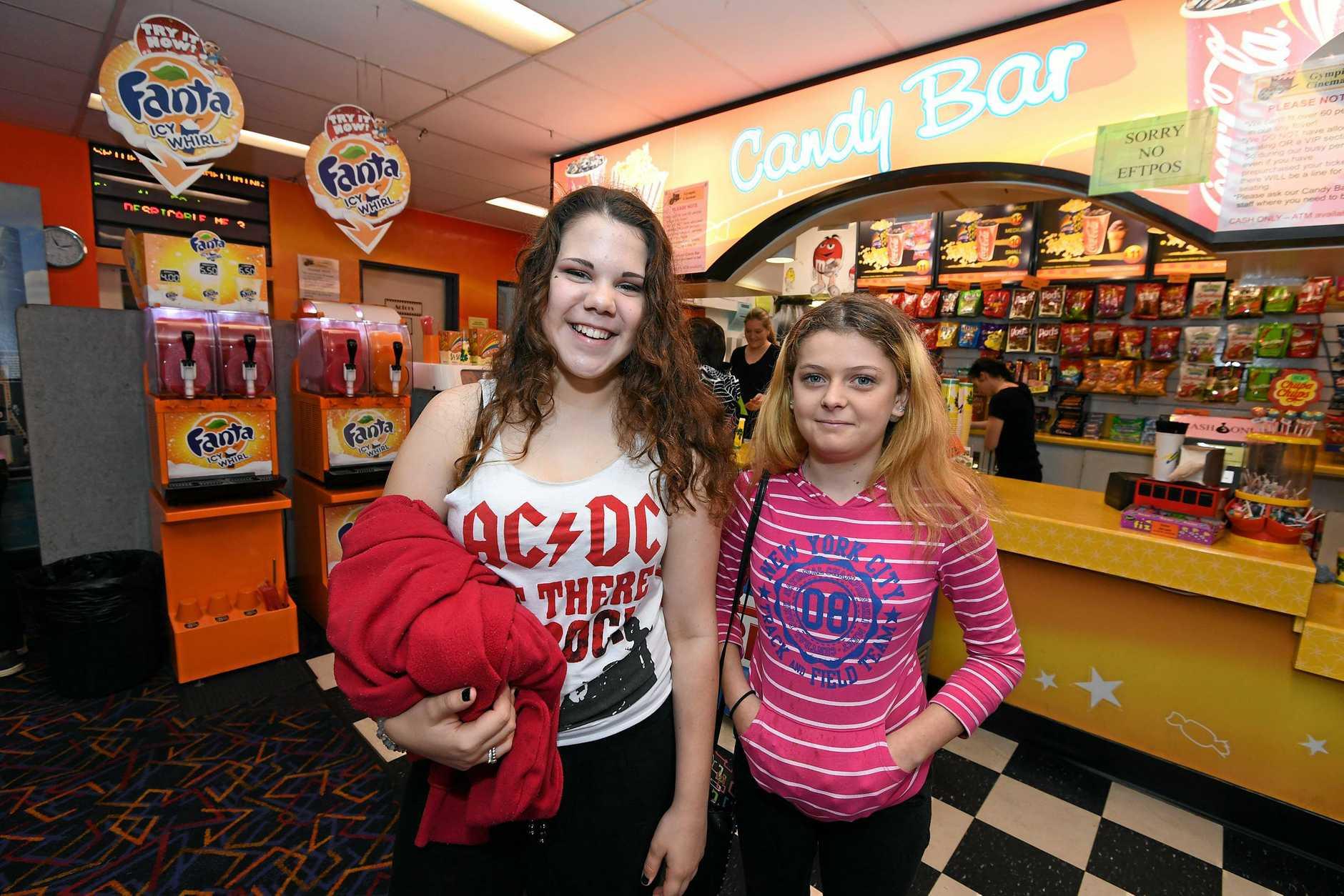 Take in a movie at Gympie Cinemas like Ashley Woo and Amelia Smith.