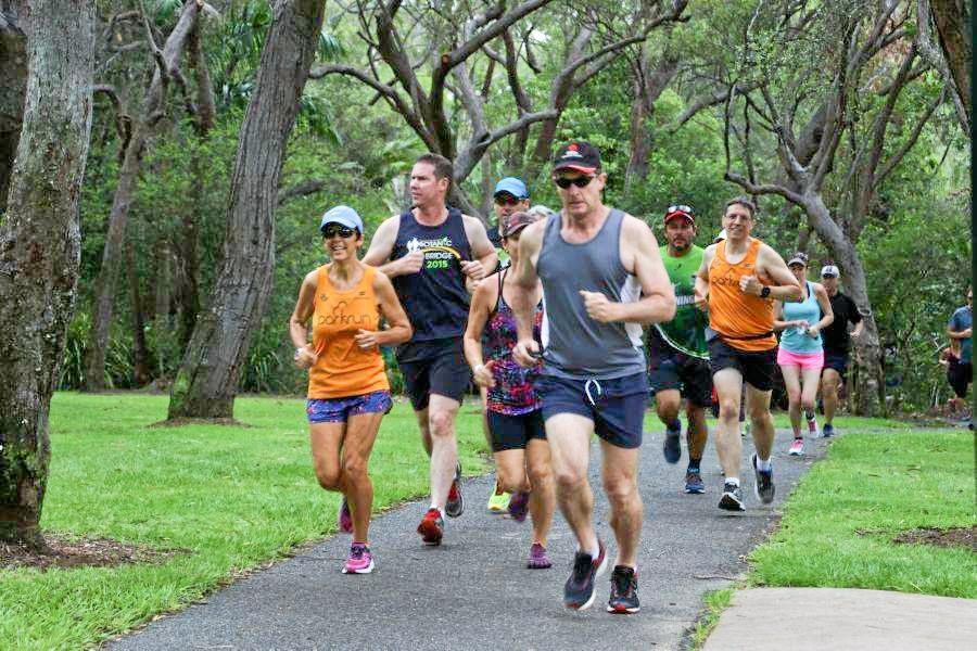FREE EVENT: About 90 people enjoyed the launch of Tannum Sands Parkrun on Saturday which will happen weekly at 7am at Canoe Point.