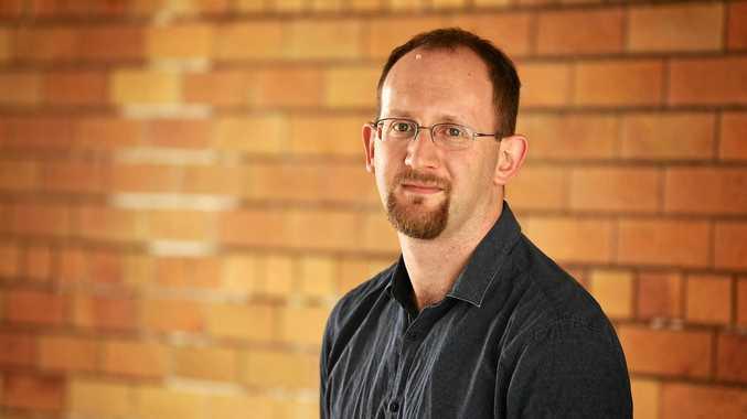 Gympie Times reporter Scott Kovacevic