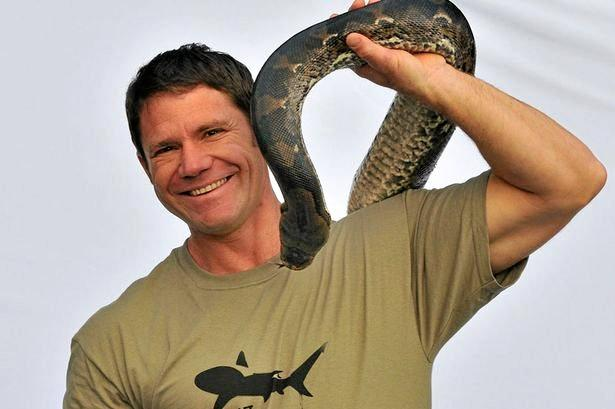 Steve Backshall star of the television show Deadly 60.