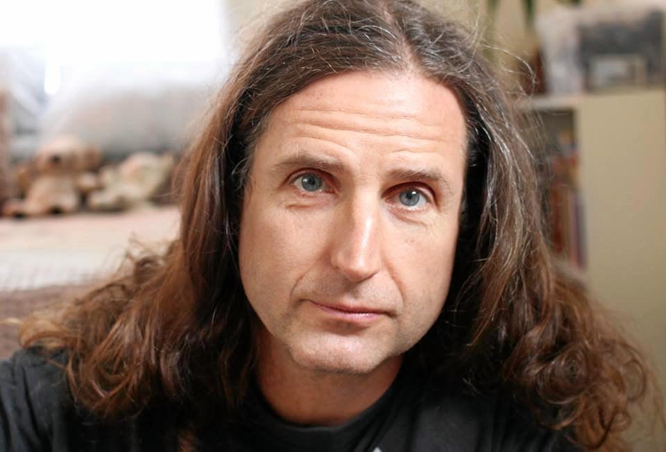 LIVE: Guitar player Peter 'Backie' Black.