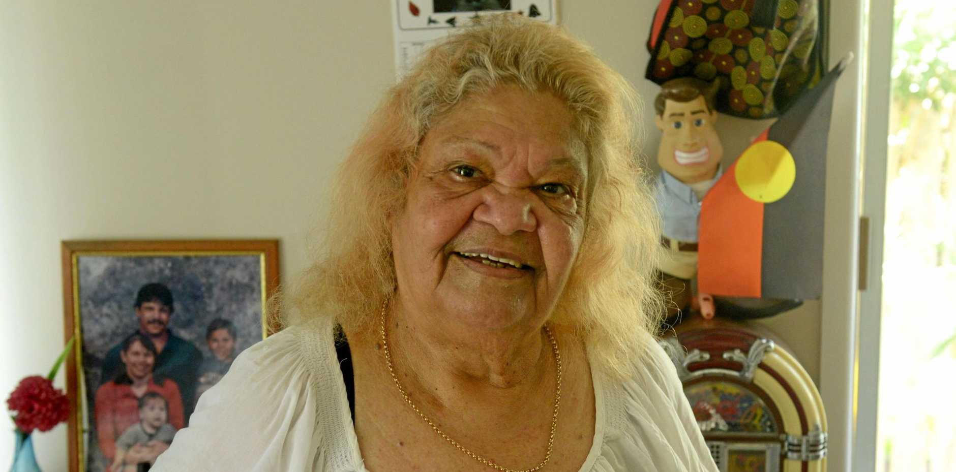 ELDER: Erica Walker is the spokeswoman for the Pitjara and Jagalingu people.