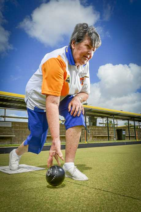 Gladstone Bowls Club secretary Mavis Howard is looking forward to the Gladstone Open 2 Bowls triples in early February.