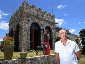 Man builds a real castle near Casino 'for my queen'