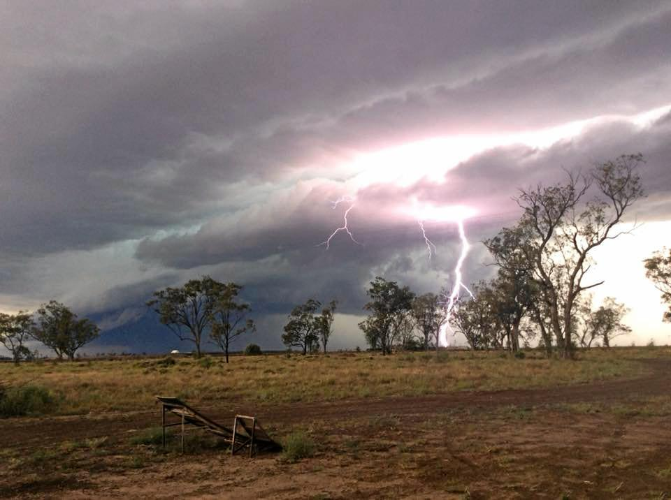 Severe lightning strikes can use a number of disasters in the region.