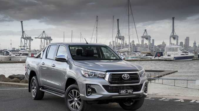 Toyota HiLux is the best selling vehicle in the country.