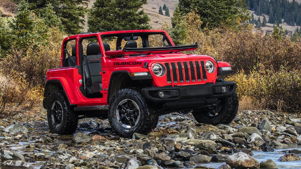 The Jeep Wrangler returns with its iconic looks.