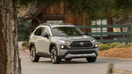 The new RAV4 range will feature a hybrid version for the first time.