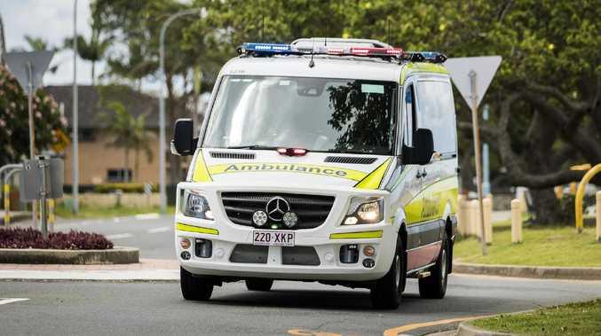 A 17-year-old boy was taken to hospital after an alleged wounding in Woodridge this morning.