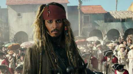 Johnny Depp played pirate Jack Sparrow in the franchise.