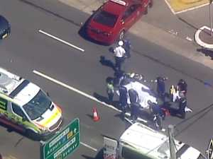 Major incident in Sydney: Stabbing, carjacking, truck crash