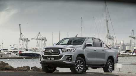 The Toyota HiLux was the most popular vehicle in the country in 2018. Picture: Supplied.