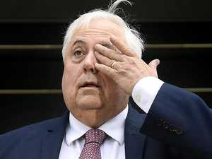 Clive Palmer's stoush with US band heats up