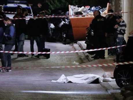 Top Sydney gangster John Macris gunned down in a seaside suburb of Athens.