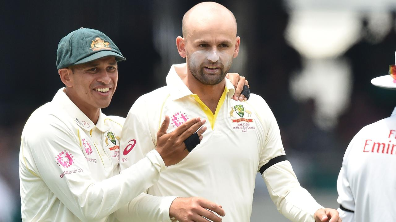 Nathan Lyon and Usman Khawaja will be wearing the coloured clothing again.