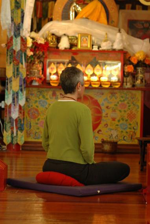 Each Friday you can slow down and join one of the Chenrezig Institute monks or nuns as they lead you through a gentle reflective meditation.