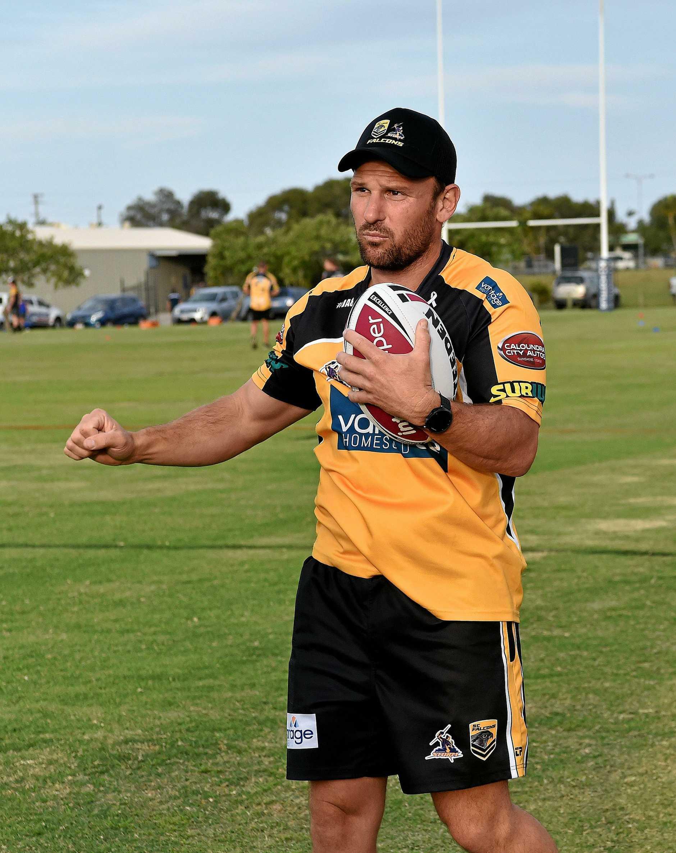 Sunshine Coast Falcons coach Eric Smith
