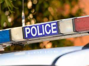 Woman in hospital after ute and truck crash in police chase