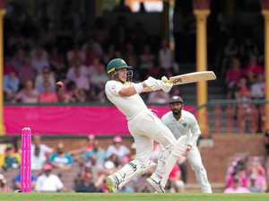 Harris takes Aussies to 1-122 at lunch