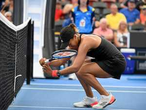 Osaka denied in Brisbane semi by unseeded Ukrainian