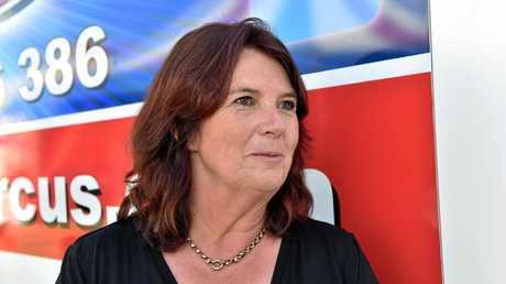 Burtons Circus manager Cheryl Lennon.